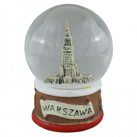 Snow globe 80 mm - Warsaw Palace of Culture