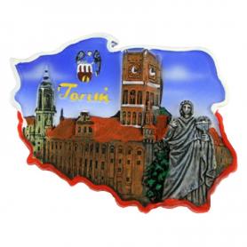 Aimant contour Toruń