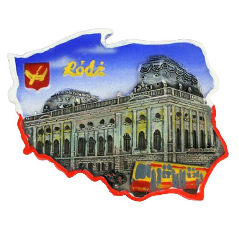 Magnes kontur Łódź
