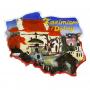 Contorno de imán Kazimierz Dolny