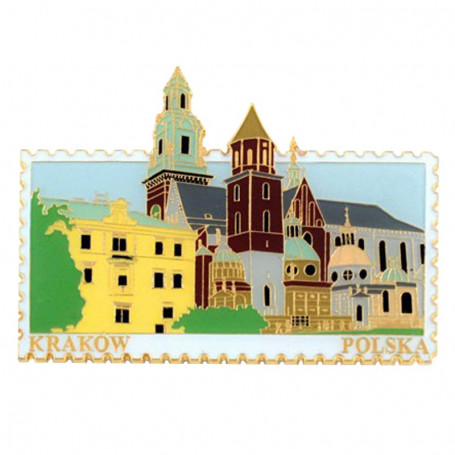 Magnet cachet Cracovie Wawel