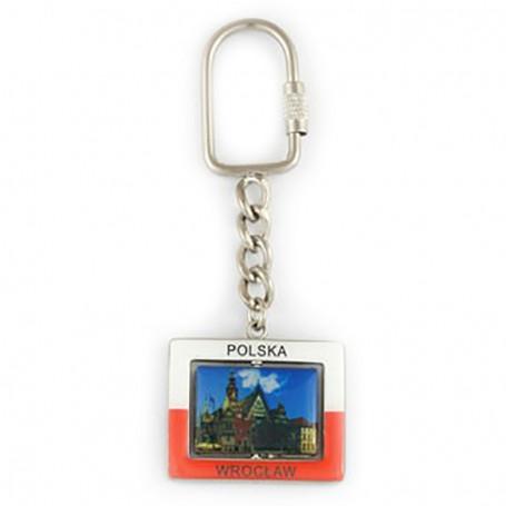 Porte-clés rectangulaire Wroclaw