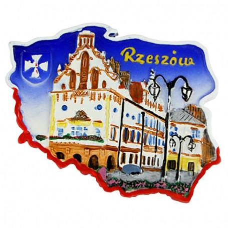 Imán contorno Rzeszów