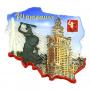Magnes kontur Warszawa Pałac Kultury