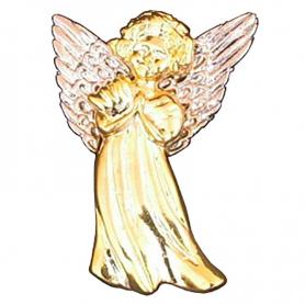 Angel, standing (metal) - brooch