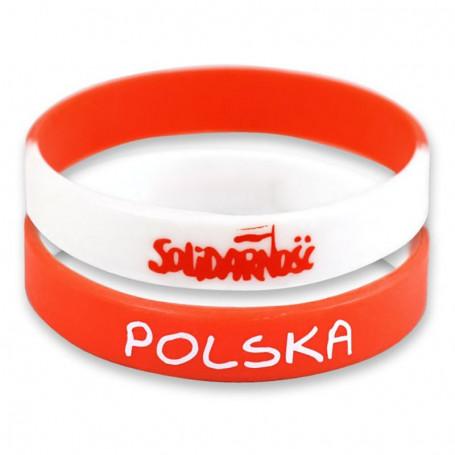 Bracelet en silicone solidaire