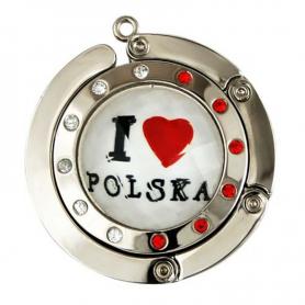 """Hanger for handbag Poland """"I love Polska"""""""
