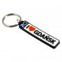 Porte-clés en caoutchouc - plaque d'immatriculation Gdansk