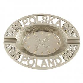 Metal ashtray Poland