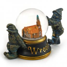 Snow globe 45 mm - Wroclaw dwarfs