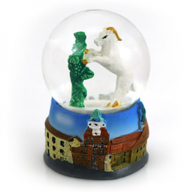 Snow globe 45 mm - Lublin