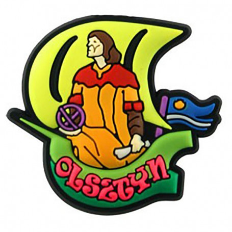 Magnes gumowy - Olsztyn Kopernik