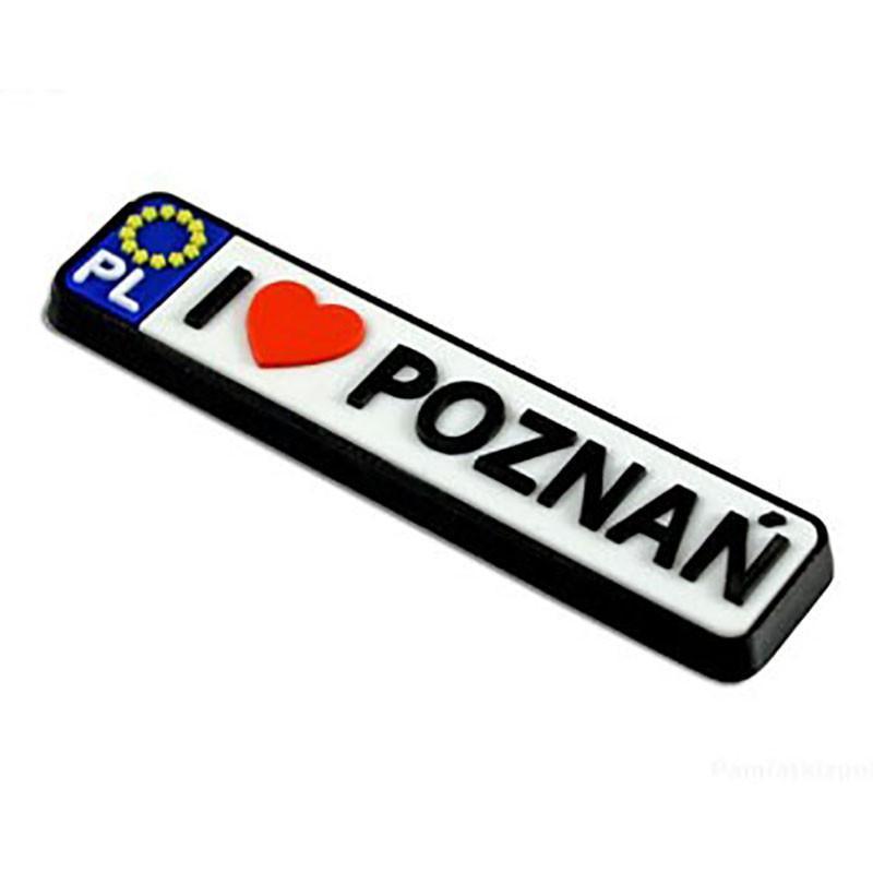 Magnes gumowy - rejestracja Poznań