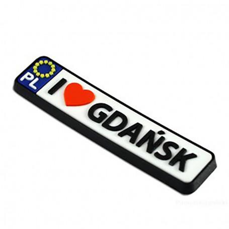 Imán de goma - registro Gdańsk