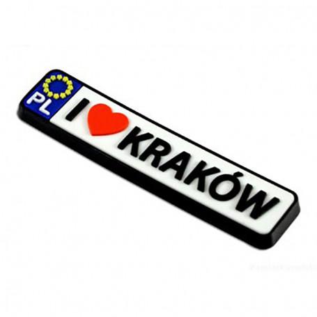 Imán de goma - registro Cracovia
