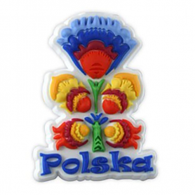 Aimant en caoutchouc - folk polonais