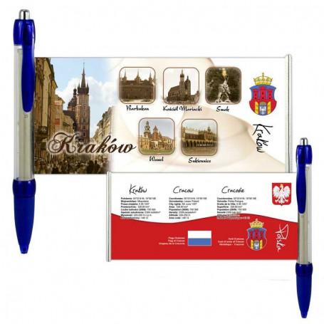 Krokuvos sukurtas rašiklis