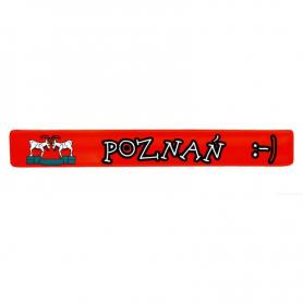 Reflektierende Band Poznan