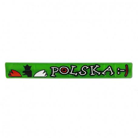 Bande réfléchissante Pologne
