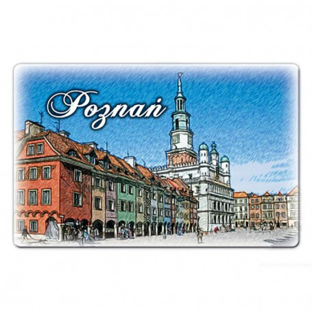 Aimant plat Poznań