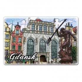 Imán plano Gdańsk Neptun