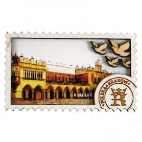 Aimant en bois Krakow Cloth Hall