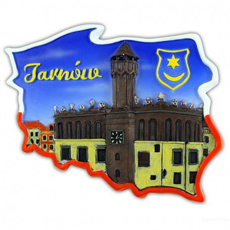 Imán contorno Tarnów