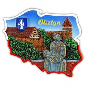 Imán contorno Olsztyn