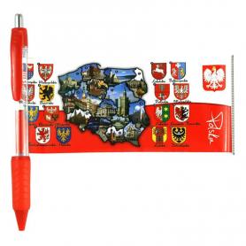 Polen utvecklade kulspetspenna