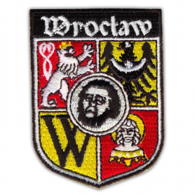Embroidery patch coat of arms Wroclaw