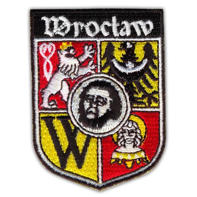 Parche escudo de armas de Wroclaw