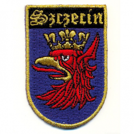 Embroidery patch coat of arms Szczecin