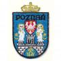 Patch écusson de Poznan