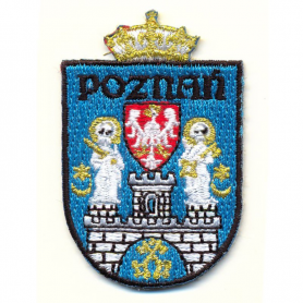 Embroidery patch coat of arms Poznan
