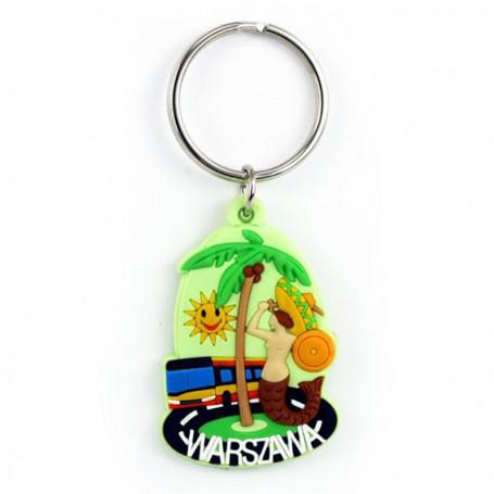 Gumos raktu pakabukas - Varšuvos palmiu medis