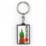 Porte-clés en caoutchouc - J'adore Cracovie