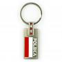 Porte-clés en métal avec zircone cubique, Pologne