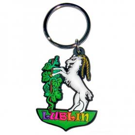 Soft pvc keychain Goat Lublin