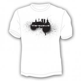 T-Shirt Warschau, Spray