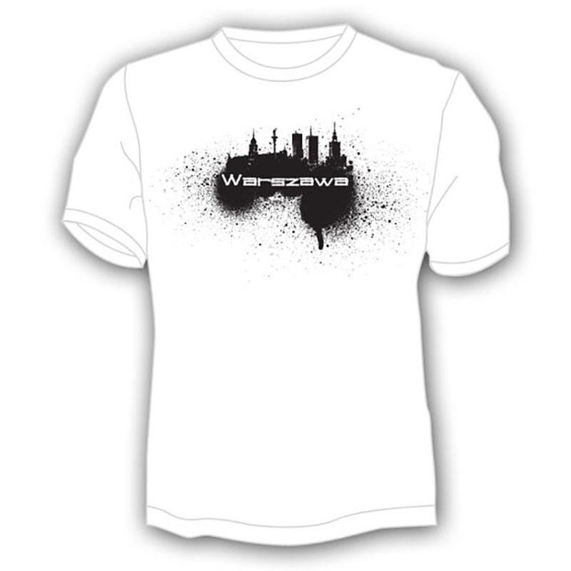 Camiseta Varsovia, spray
