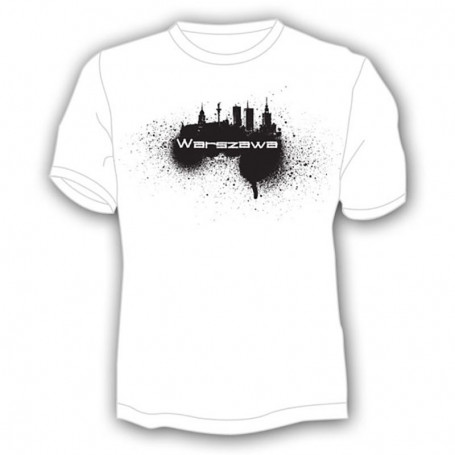 Camiseta Varsovia, spray