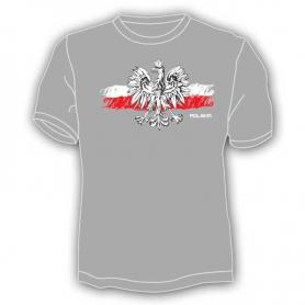 T-shirt drapeau de la Pologne