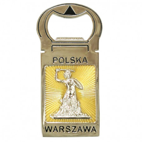 Abrebotellas Varsovia - imán