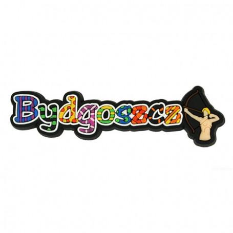 Imán de goma - la palabra Bydgoszcz