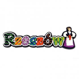 Rubber Magnet - die Inschrift Rzeszów
