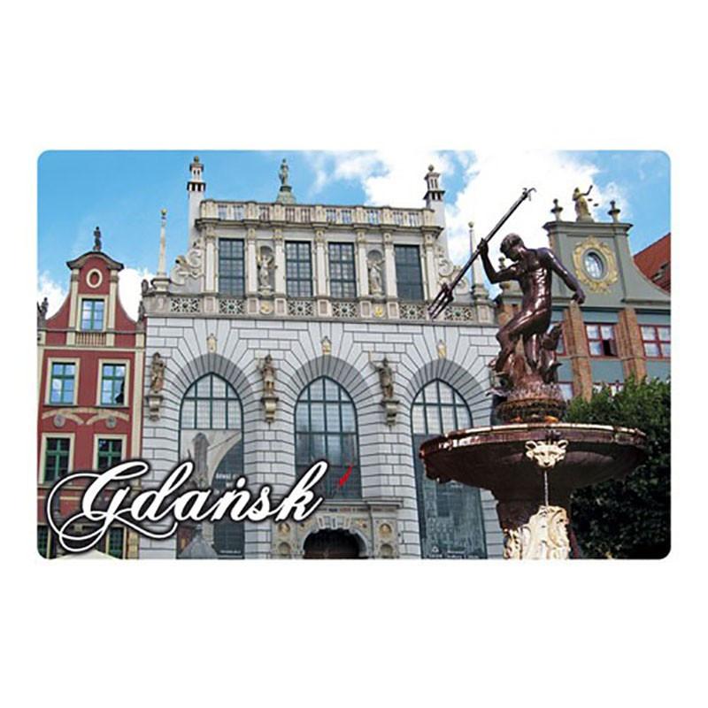 Aimant avec effet 3D Gdańsk Neptun
