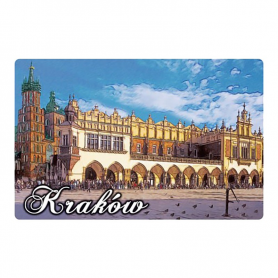 3D fridge magnet Cracow Sukiennice (Cloth Hall)
