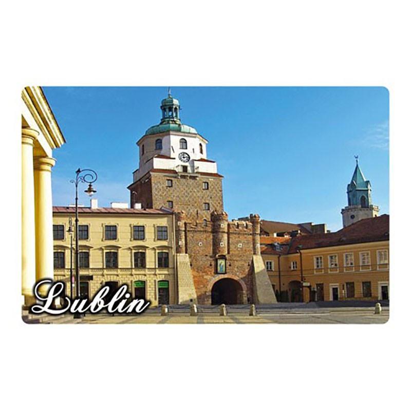 Magnes z efektem 3D Lublin