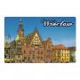 Aimant avec un effet 3D Wroclaw