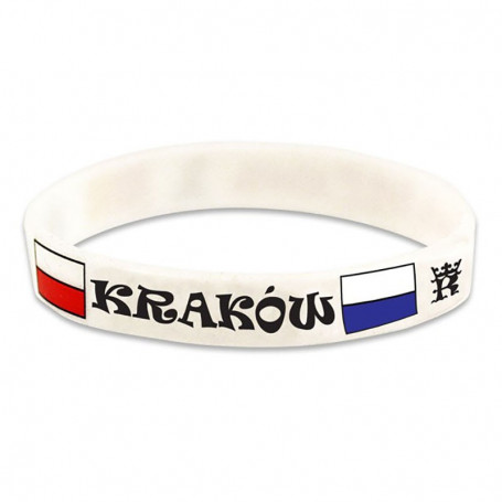 Bracelet en silicone Cracovie